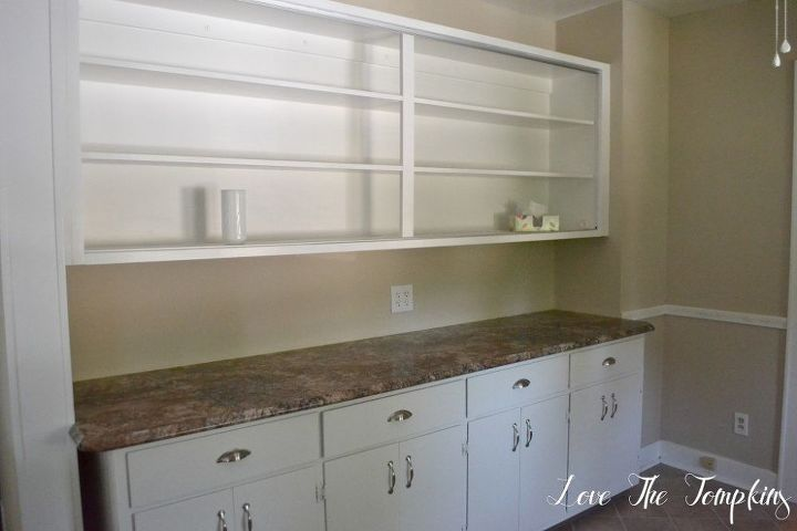 Breakfast nook and coffee bar before and after hometalk for Countertop coffee bar ideas