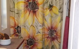 shower curtain diy, bathroom ideas, crafts