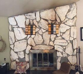 Stone fireplace- anyone know how to clean this? | Hometalk