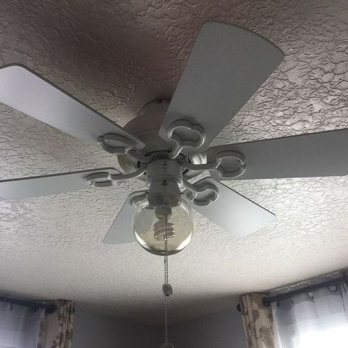 how to create a chandelier on a ceiling fan? | hometalk
