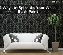 4 ways to spice up your walls, chalkboard paint, container gardening, gardening, home decor, painting, wall decor