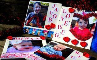 diy valentine s day tile, crafts, decoupage, seasonal holiday decor, valentines day ideas
