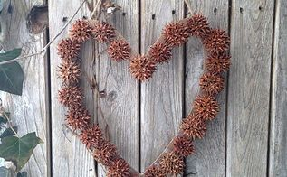 how to make a sweetgum wreath, crafts, how to, seasonal holiday decor, valentines day ideas, wreaths