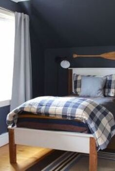 navy boys bedroom, bedroom ideas, diy, home improvement, paint colors, painting, wall decor