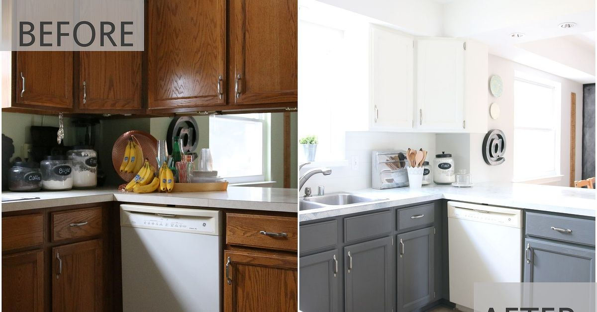 How To Paint Vinyl Kitchen Cabinets