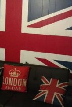 union jack flag, home decor