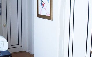 rental friendly diy door decor with washi tape, doors, wall decor