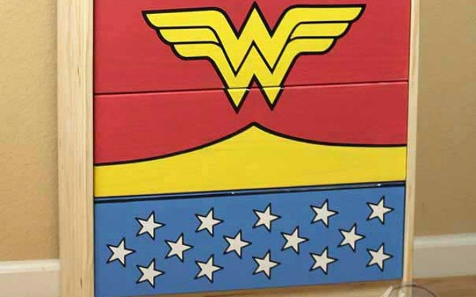 s we couldn t believe these started as ikea rasts, painted furniture, repurposing upcycling, The Wonder Woman Dresser