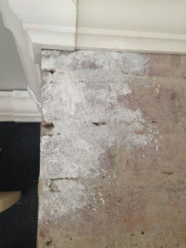 How to white wash brick hometalk for How to wash cement floor