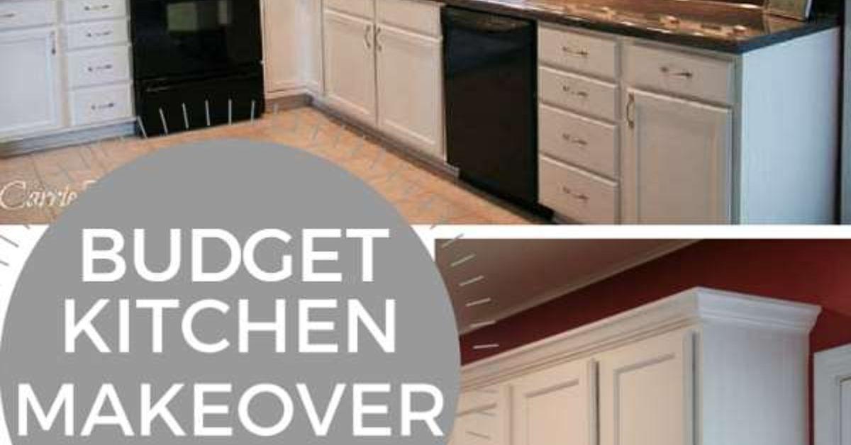 budget kitchen makeover hometalk