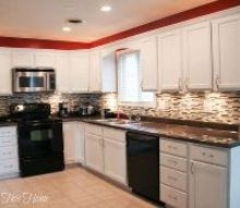 budget kitchen makeover, appliances, countertops, diy, flooring, kitchen backsplash, kitchen design, painting