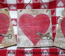 key to my heart, crafts, seasonal holiday decor, valentines day ideas, woodworking projects