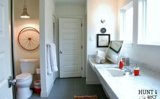 from decades of floral to fresh and fab bathroom makeover, bathroom ideas, diy, home improvement