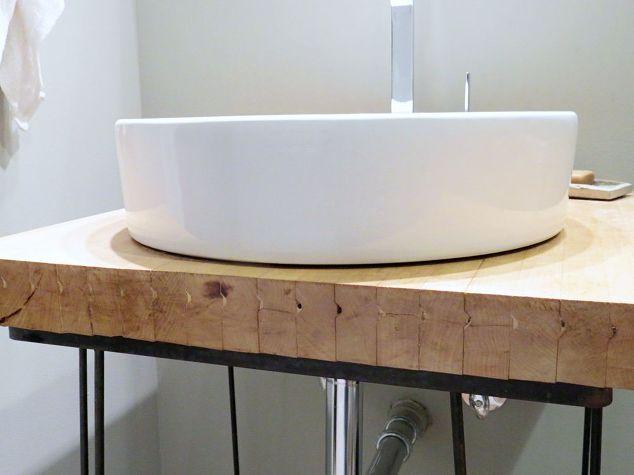 Bowling Alley Into Bathroom Vanity? No Way! Hometalk