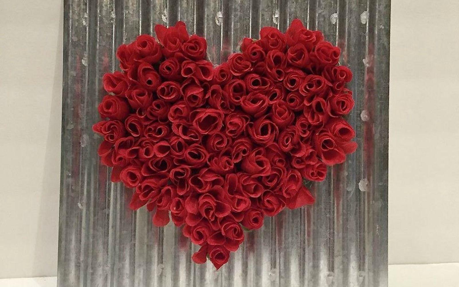 Easy To Make Valentine Crafts