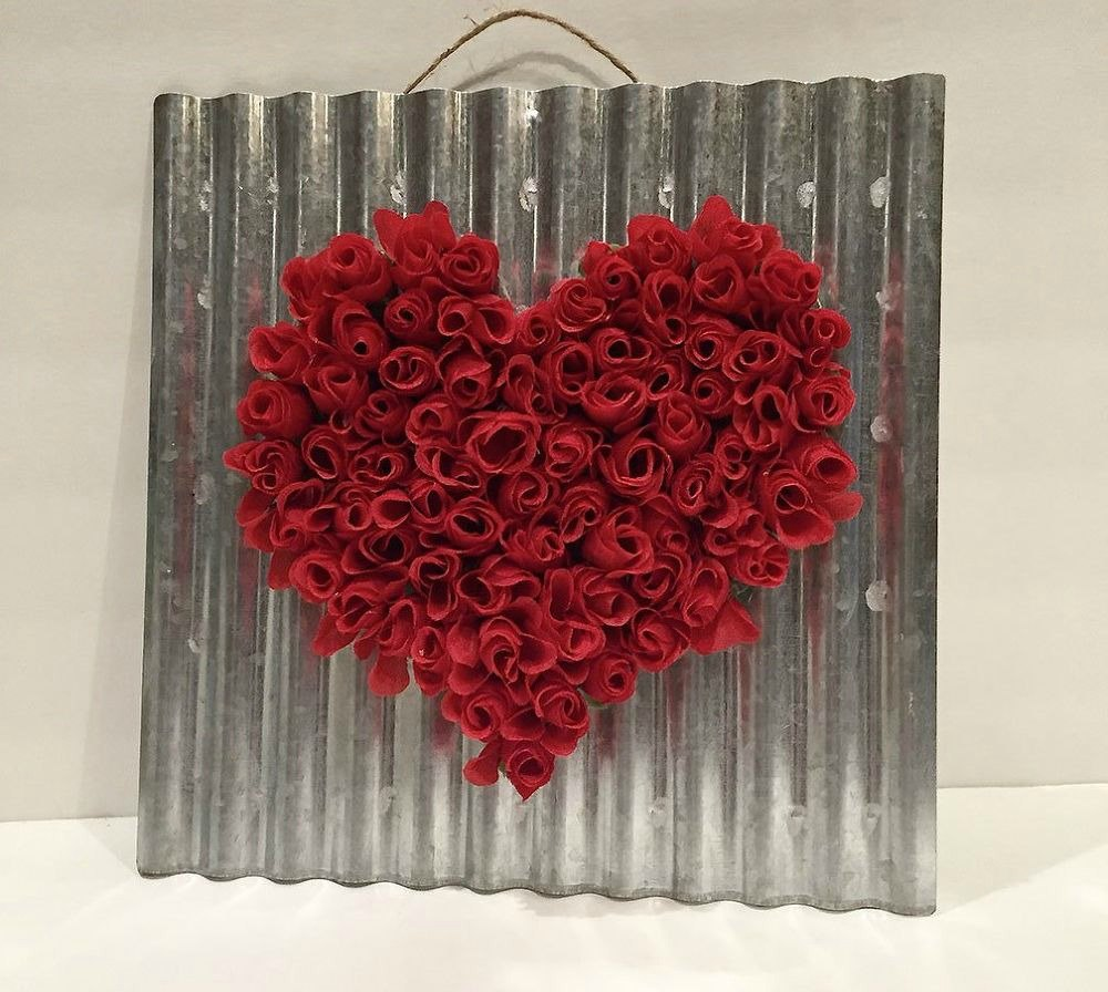 21 romantic heart decorations you might want to leave up for Heart decoration ideas