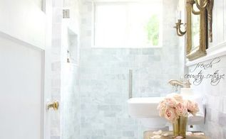 french cottage bathroom renovation bathroombeautify, bathroom ideas
