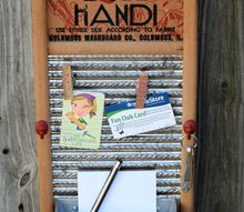 easy memo board project, crafts, kitchen design, organizing, repurpose household items
