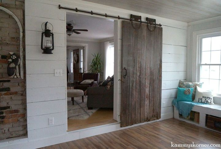 Sliding barn door from a forsaken farm stead hometalk for Farm door ideas