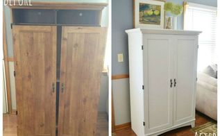 diy home office makeover, chalkboard paint, home office, painted furniture