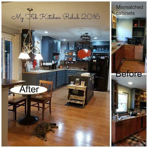 Chalk Paint Kitchen Cabinets Durability: Refinishing Kitchen Cabinets With General Paints Milk