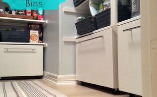 diy storage bins for your pantry, closet, diy, kitchen design, organizing, storage ideas