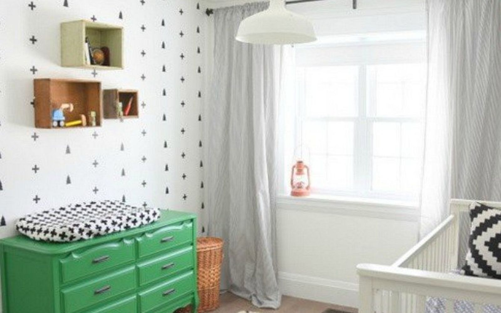 s the 12 brilliant hacks every mom should know, home decor, repurposing upcycling, Quickly perk up a kids bedroom with decals