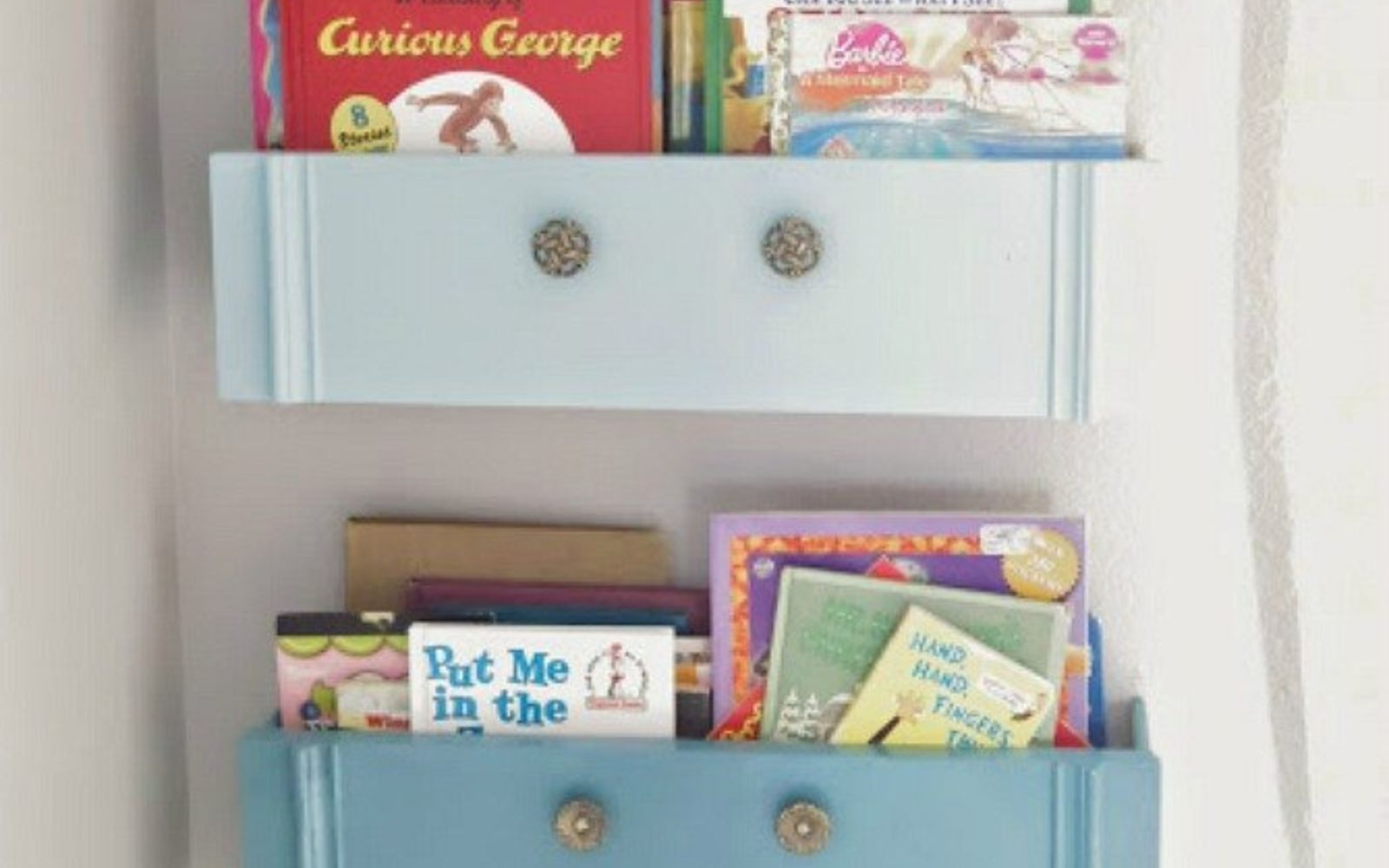 s the 12 brilliant hacks every mom should know, home decor, repurposing upcycling, Don t buy kids room storage upcycle instead