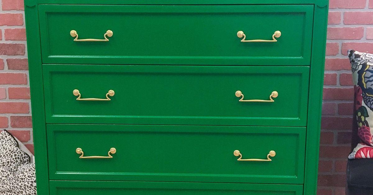 Emerald Green Chest Hometalk