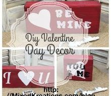 easy valentines day projects, seasonal holiday decor, valentines day ideas