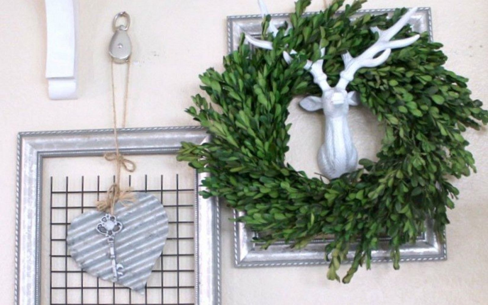 s how 13 dumpster divers decorate for valentine s day, repurposing upcycling, seasonal holiday decor, valentines day ideas, Artsy Heart Hanging from Thrift Store Frames