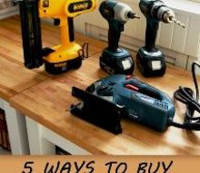 5 ways to buy tools for less, diy, tools