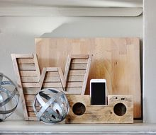 diy wood speakers no electricity needed, entertainment rec rooms, how to, woodworking projects