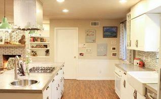 from green to a dream our massive kitchen makeover, concrete masonry, concrete countertops, countertops, diy, home improvement, kitchen design, kitchen island