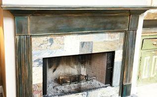 fireplace mantel refinishing, diy, fireplaces mantels, home maintenance repairs, painting