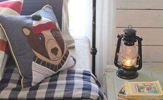 cabin inspired boy s room, bedroom ideas