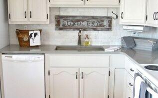 do it yourself kitchen makeover, countertops, diy, home decor, home improvement, kitchen backsplash, kitchen cabinets, kitchen design, painting