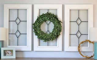 diy vintage inspired window panes