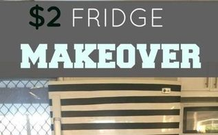 2 fridge makeover by natasha banks, appliances, crafts, kitchen design