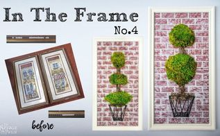 in the frame no 4, crafts, wall decor