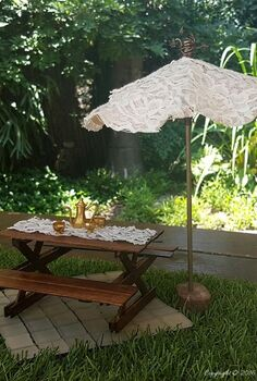 make a fairy umbrella that works, crafts, gardening, how to