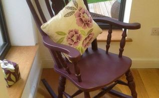 rocking chair revival, painted furniture