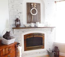 master bedroom fireplace makeover, bedroom ideas, diy, fireplaces mantels, painting, wall decor