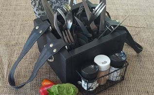 turn an old handbag into a picnic caddy, crafts, organizing, repurposing upcycling