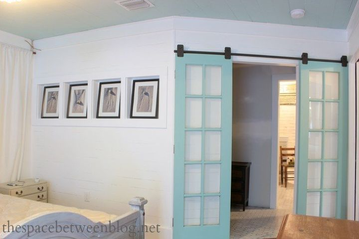 Reclaimed French Doors on Rolling Door Hardware #FixerUpperStyle ...