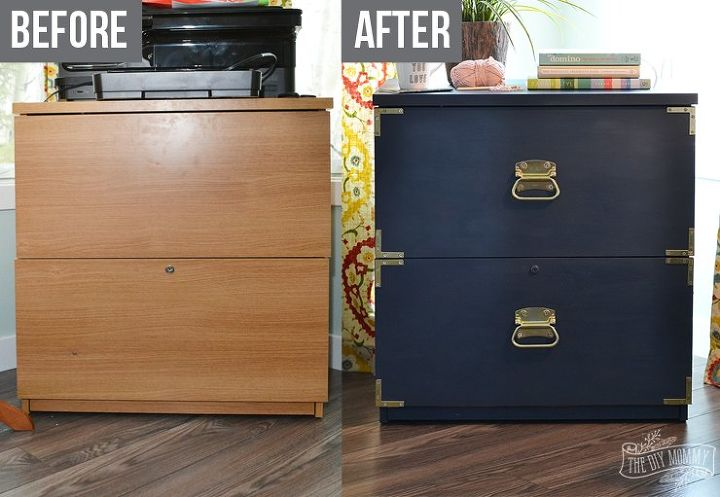 A New Life For An Old Filing Cabinet Hometalk