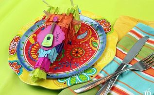diy piata favor boxes sure to be a hit at your next fiesta, crafts