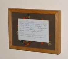 mom s signature recipe, wall decor