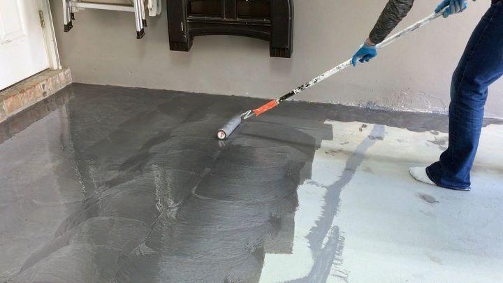 Garage Floor Metallic Coating Hometalk