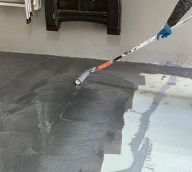 garage floor metallic coating concrete masonry diy flooring garages painting